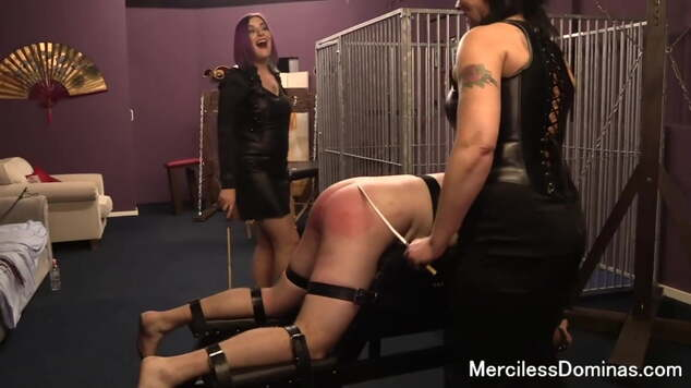 Caned and in Pain